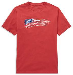 Polo Ralph Lauren Boys' Jersey Flag Tee - Big Kid