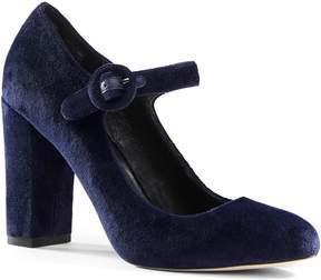 Lands' End Lands'end Women's Block Heel Mary Jane Shoes