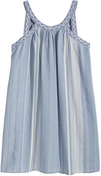 Epic Threads Striped Keyhole Strap Dress, Big Girls, Created for Macy's