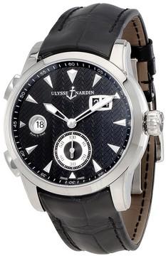 Ulysse Nardin Dual Time Black Dial Automatic Men's Watch 3343-126-912