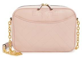 Tory Burch Alexa Leather Crossbody Camera Bag - Pink