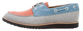 Marc Jacobs Suede Round-Toe Boat Shoes w/ Tags