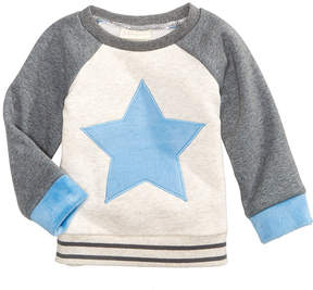 First Impressions Star Sweatshirt with Faux-Fur Trim, Baby Boys (0-24 months), Created for Macy's