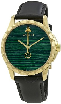 Gucci G-Timeless Malachite Green Dial Men's Watch