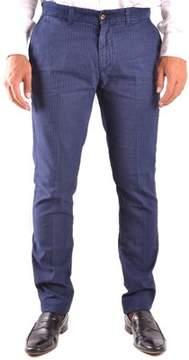 Harmont & Blaine Men's Blue Cotton Pants.