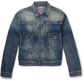 Ralph Lauren Purple Label Perry Denim Trucker Jacket