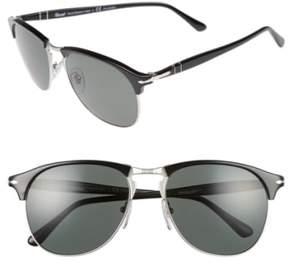 Persol Men's 56Mm Sunglasses - Black