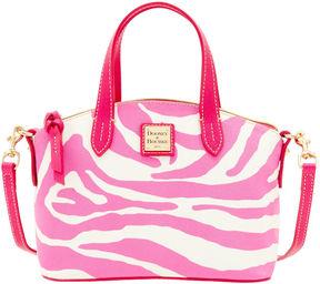 Dooney & Bourke Zebra Brights Ruby - WHITE PINK - STYLE