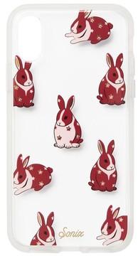 Sonix Chubby Bunny Print Iphone X Case - Pink