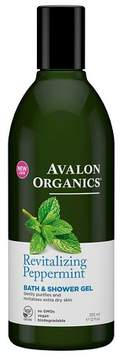 Avalon Organics Revitalizing Peppermint Shower Gel - 12floz