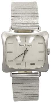 Girard Perregaux 18K White Gold White Dial Manual Vintage 29mm Mens Watch