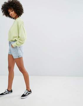 Weekday Newday Shorts with Rolled Hem