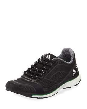 adidas by Stella McCartney Adizero Adios Knit Sneaker, Black/White