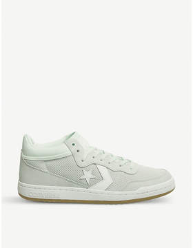 Converse Fastbreak Mid suede and mesh trainers