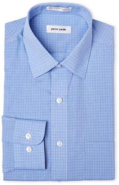 Pierre Cardin Slim Fit Blue Stripe Dress Shirt