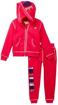 True Religion Pop True Fleece Hoody & Pant Set (Toddler Girls)