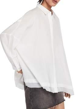 AllSaints Katia Oversized Shirt