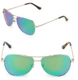 Revo 59MM Round Aviator Sunglasses