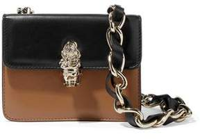 RED Valentino Two-Tone Leather Shoulder Bag