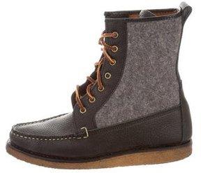 Ralph Lauren Venedict Flannel Boots