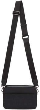 Fendi Black Logo-Embossed Camera Bag