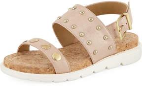 Adrienne Vittadini Perry Studded Sport Sandal
