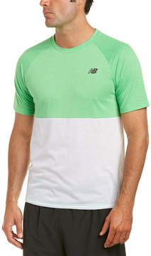 New Balance Colorblocked Breathe T-Shirt