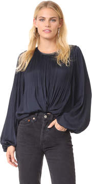 Elizabeth and James Baker Pleated Blouse