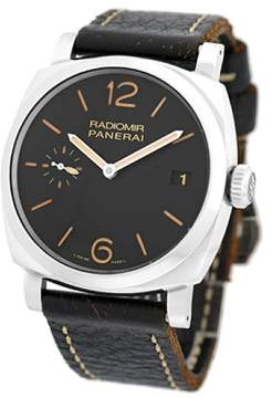 Panerai Radiomir PAM00514 Stainless Steel & Leather Manual 47mm Mens Watch