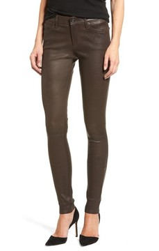AG Jeans Women's The Legging Super Skinny Leather Pants
