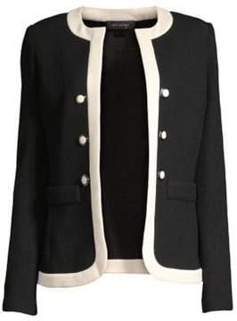 Black Cream Irina Knit Jacket
