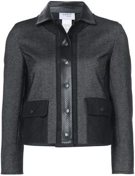 Akris Punto cropped zipped jacket