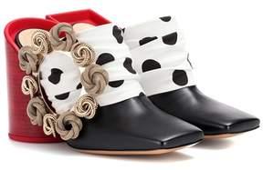 Jacquemus Gitan leather mules