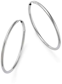 Bloomingdale's 14K White Gold Small Endless Hoop Earrings - 100% Exclusive