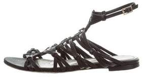 Jason Wu Embossed Multistrap Sandals