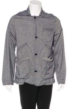 Billy Reid Herringbone Lightweight Field Coat