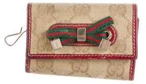 Gucci GG Princy Key Pouch - BROWN - STYLE