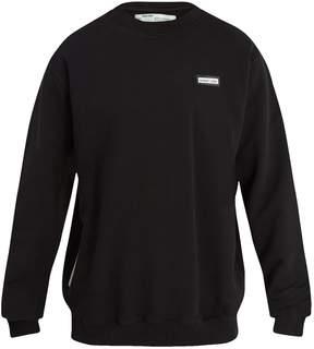 Off-White Crew-neck cotton-jersey sweatshirt
