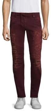 Pierre Balmain Ripped Denim Jeans