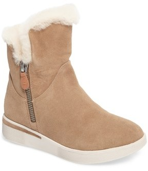 Gentle Souls Women's Hazel Levitt Genuine Shearling Lined Boot