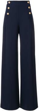 Alberta Ferretti wide high rise trousers