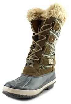 Khombu Melanie Women Round Toe Synthetic Multi Color Winter Boot.