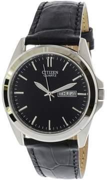 Citizen Men's BF0580-06E Black Leather Quartz Fashion Watch