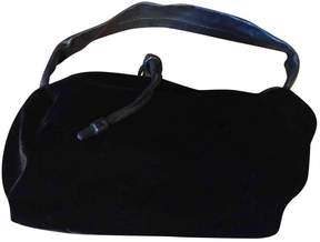Jil Sander Black Velvet Handbag