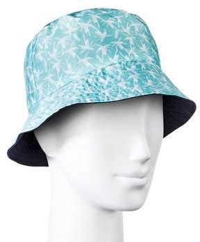 Mossimo Women's Palm Print Bucket Hat Aqua