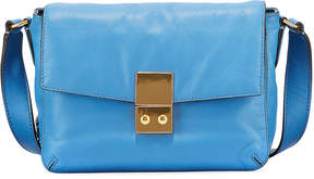 Cole Haan Allanna Leather Crossbody Bag, Blue
