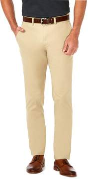 Haggar Men's Coastal Comfort Slim-Fit Stretch Flat-Front Chino Pants