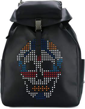 Alexander McQueen skull-embellished backpack