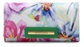 Braccialini Cristina Floral-Printed Clutch Bag
