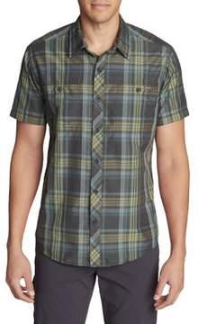 Eddie Bauer Greenpoint Plaid Short-Sleeve Shirt